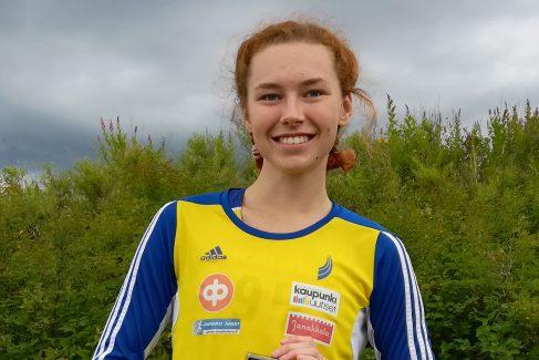 Ella Junnila Ruotsi-otteluun