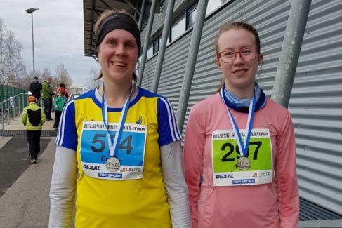 Hyviä tuloksia Helsinki Spring Marathonilta