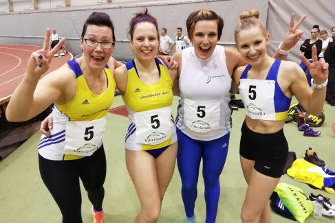 Janalaisille yleisurheilijoille 13 aikuisten SM-mitalia Jyväskylästä