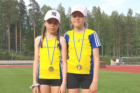 Janan yleisurheilijoille mitaleita Tuusulasta ja Vantaalta
