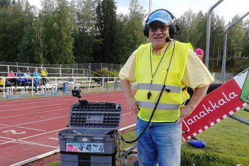 Viikon taustahenkilö: Markku Stenroth, lähettäjä