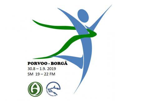 SM-kilpailut M/N19-22 Porvoossa