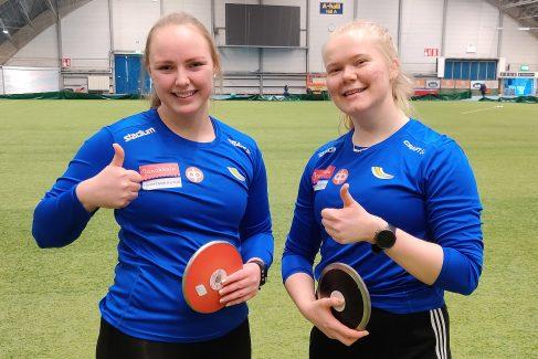Janan heittäjille hyviä tuloksia Tampereelta