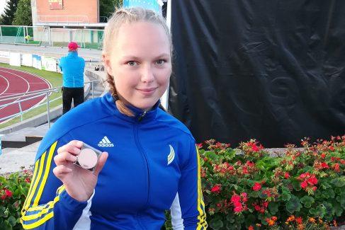 Sanni Kuparinen 17-vuotiaiden EM-kisoihin Unkariin