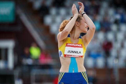 Ella Junnilalle Kalevan kisojen hopeaa