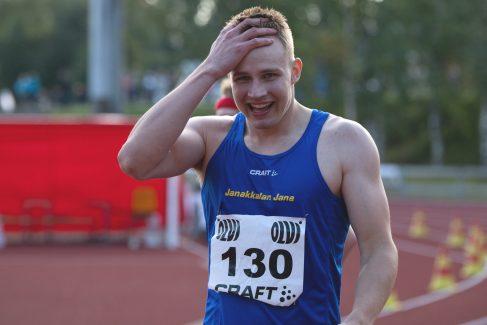 Lasse Hämelahti juoksi uuden Janan ennätyksen