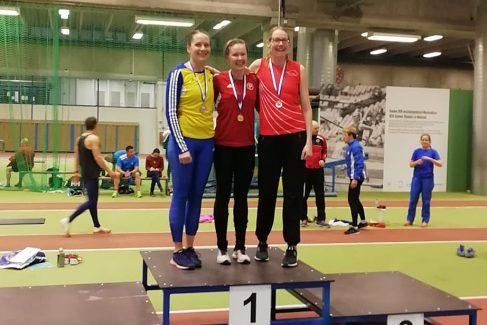 Janalle kaksi hopeaa ja pistesija SAUL:n SM-moniotteluista