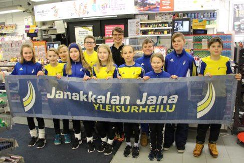Ärrältä 1 000 euron lahjoitus Jana yleisurheilulle